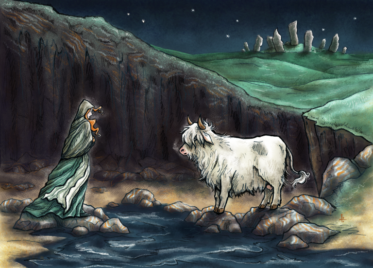The White Cow of Lewis