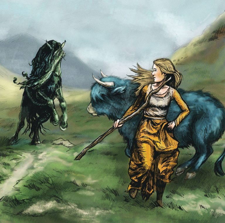The Kelpie and the Water Bull